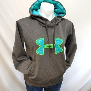 Under Armour Hoodie Sweatshirt Grey sz Small